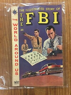 Vintage CLASSICS ILLUSTRATED The World Around Us - The Story of The FBI