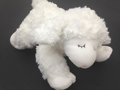 Gund Baby White Lamb Plush Rattle Winky 058133 Small Soft Stuffed