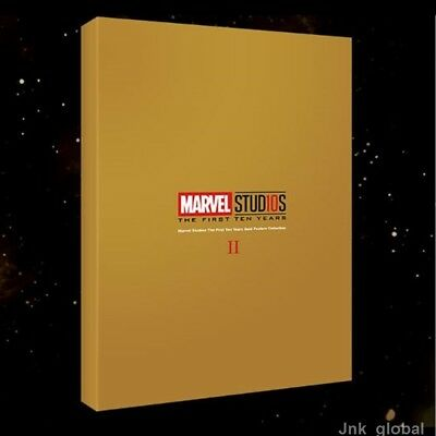 Marvel Studios Ten Years Anniversary Limited Rare Gold Posters Collection 2 NEW