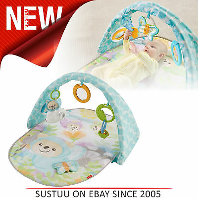 Fisher-Price Butterfly Dreams Musical Playtime Gym│Lay & Play Mat│Soft & Comfy
