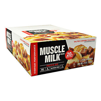 Cytosport Muscle Milk RED Protein Bar Box Of 12 Bars