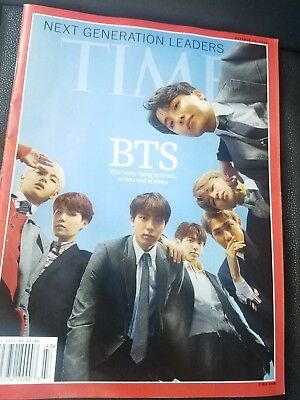 BTS Time Magazine special edition