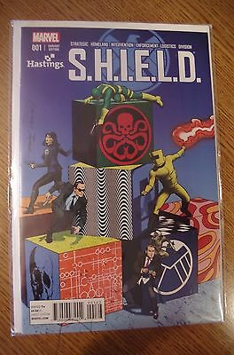SHIELD # 1 Hastings Exclusive variant Steranko tribute cover by Mike Mahew