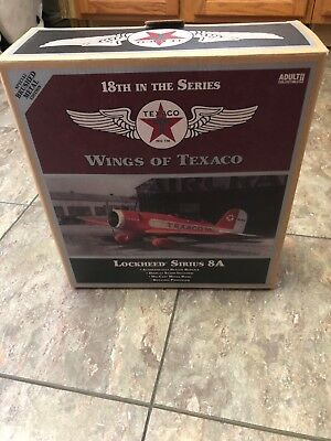 Ertl 2009 Collector's Edition Wings of Texaco Brushed Metal Lockheed Sirius 8A