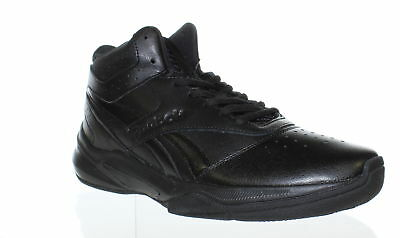 8aa781447fc0 Reebok Mens Pro Heritage 3 Black Basketball Shoes Size 8 (430419)