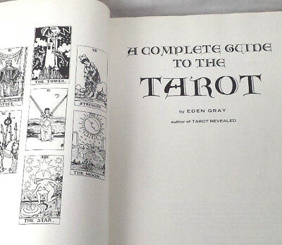 Complete Guide to the Tarot Eden Gray 1970 Hardcover Book Card Divination Occult