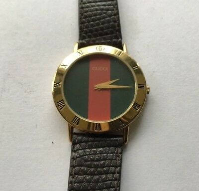 af0ddc9efd0 VINTAGE GOLD PLATED Gucci watch Mens in working condition -  137.50 ...
