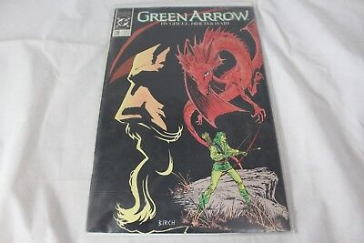 Vintage DC Comics Green Arrow The Witch Hunt Grell Birch Bair No #26 Nov 1989
