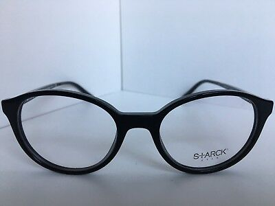 Neuf Starck Yeux Alain Mikli Sh 3027 SH3027 0002 49mm Rond Lunettes Cadre 1259f84874d6