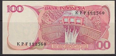 Indonesia 100 Rupiah banknote  circulated  VG 1984