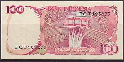 Indonesia 100 Rupiah banknote  circulated  VG 1984 #3