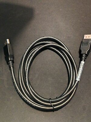 Brand New Display Port Cable Male to Male D-Port Cable 4K Ready 6 Ft COXOC
