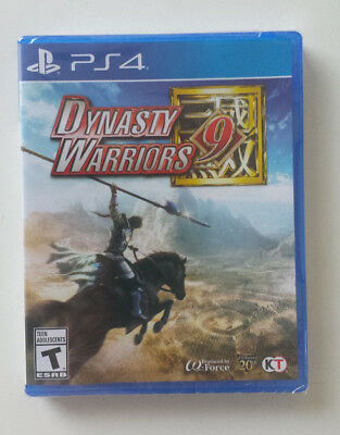 [SEALED, NEW] Dynasty Warriors 9 for PS4 (PlayStation 4)