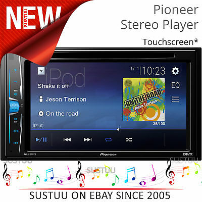 "Pioneer AVH A100DVD 6.2"" Double Din Car Multimedia Player│CD/DVD/MP3/USB/Radio"