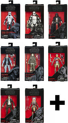 "STAR WARS: BLACK SERIES 6"" ASSORTED ACTION FIGURES ~ Rex, Han Solo, Tarkin++++"