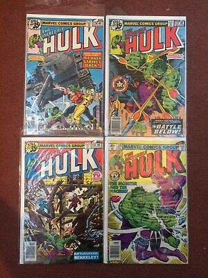Marvel Comics Incredible Hulk X 42 Issues Between 229-290 Bruce Banner