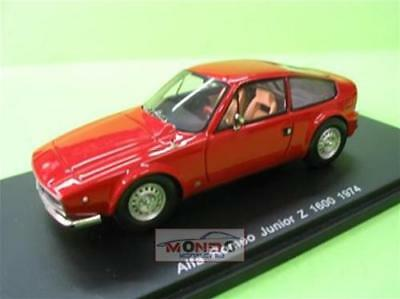 Alfa Romeo Junior Z 1300 Red 1970 1:43 Sp0610 Modellino