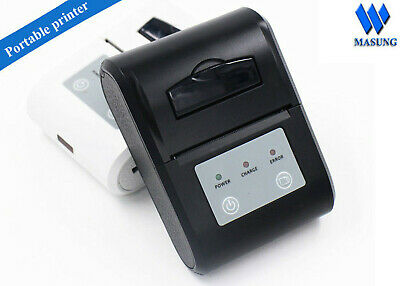 58mm Mini Portable Bluetooth Wireless Receipt Thermal Printer Android ZJ-5802LD