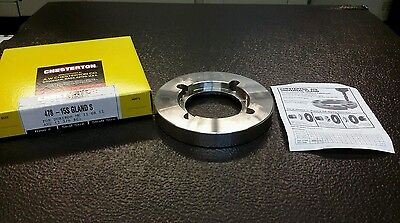 Chesterton 478-15S Gland S 057407 Seal Size-15 Shaft Size 1.875 NEW