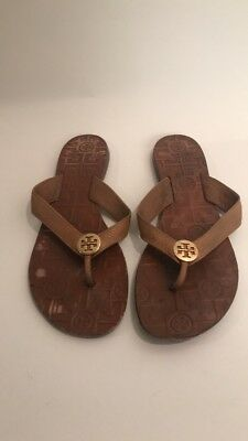 38442373023362 Tory Burch Luggage Brown Thora Sandals 8
