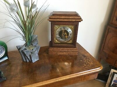 Antique clock   Is working  New quartz movement fitted