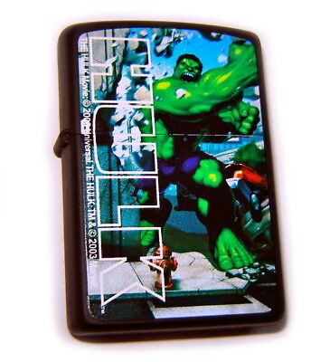 ZIPPO Beautiful INCREDIBLE HULK-JAPAN LIMITED EDITION Mega Rare ONLY 1 on EBAY !