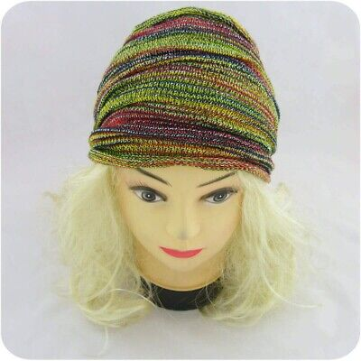Écharpe Tube Tricotée Foulard Dread Wrap Écharpes Multiples Magic Hair Half fea2ab4fb34