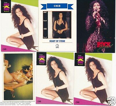 Cher Collector Cards-Take Me Home-Heart of Stone-Turn Back Time-Love Hurts-#499