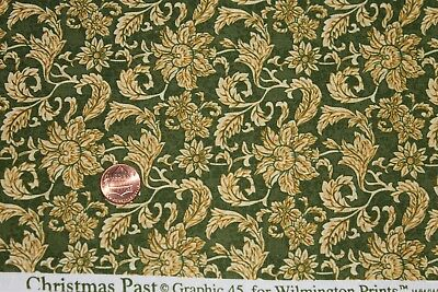 """/""""CHRISTMAS PAST/"""" 100/% COTTON QUILT FABRIC BY THE YARD BY WILMINGTON PRINTS 85512"""