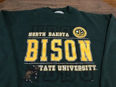 North Dakota State Classic Green Knitted NDSU Bison Scarf
