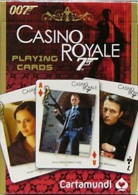 James Bond Casino Royale cartes à jouer Anglais Cartamundi