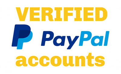 Verified Paypal Account(s)