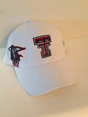 new product 4a496 9f7bb Texas Tech Red Raiders Top of the World Molten Stretch fit ha tOSFM White