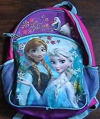 bac56099710 DISNEY FROZEN BACKPACK School Bookbag Overnight ANNA