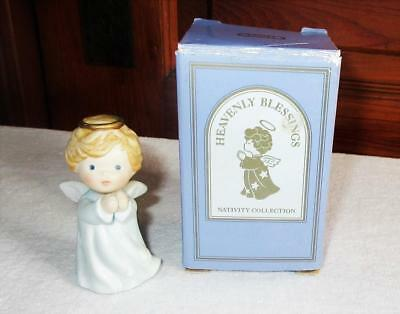 1986 AVON ANGEL Figurine Heavenly Blessings Nativity Collection Vintage