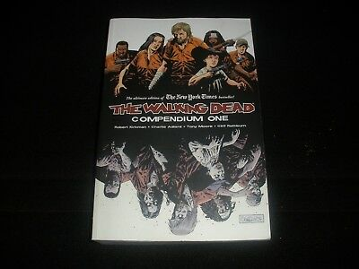 the walking dead compendium one book heavy thick new magazines comics
