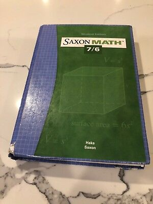 Saxon Math 7/6: Student Edition 2004
