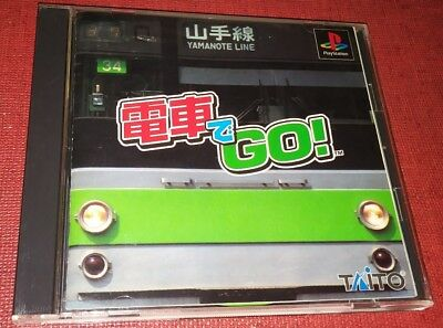 Playstation game Densha De Go Japanese Version PS1