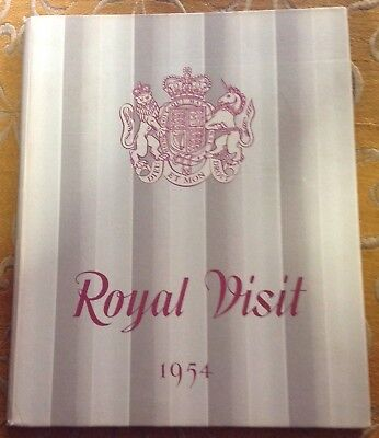 "Vintage book ""Royal Visit 1954"" to Australia"