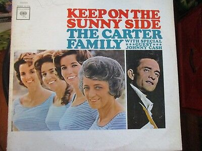 "The Carter Family & Johnny Cash- ""Keep On The Sunny Side"" Stereo, 2 Eye"