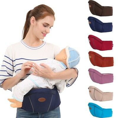 3d05a1349b0 Portable Kids Baby Waist Belt Hip Seat Chair Travel Safety Toddler Front  Carrier