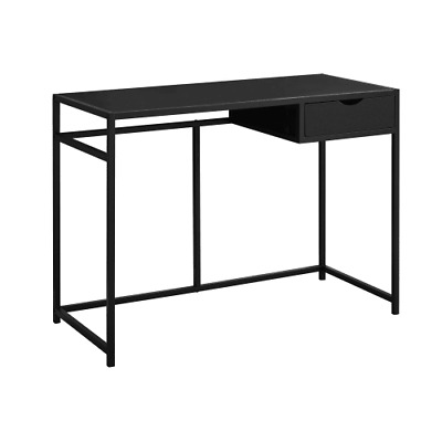 Monarch Specialties I 7220 42 Inch Wide Wood Top Metal Computer Desk