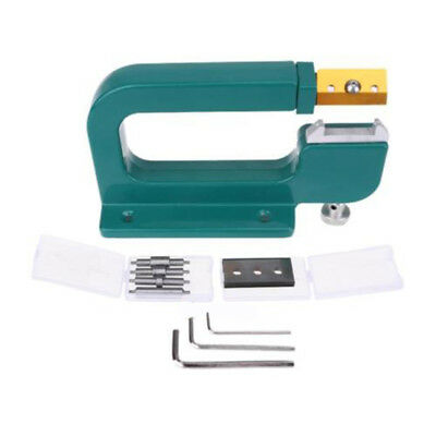 Pro Leather Craft Edge Skiving Machine Leather Splitter Skiver Paring Tool Green