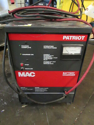 Mac  Patriot 12VDC Automatic Battery Charger For Single Service 360-770AH