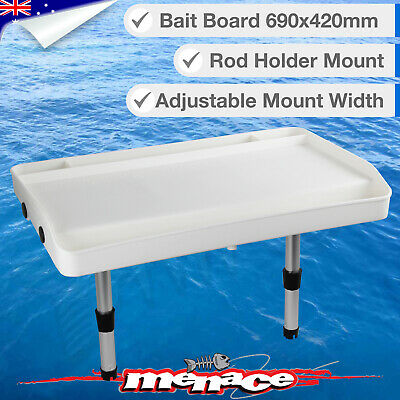 Extra Large Boat BAIT BOARD Rod Holder Mount Fishing Cutting Filleting