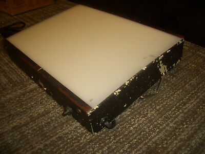 """Logan Desk Top Light Box Tested Working  12.5"""" by 9.5"""" by 2.5"""" Art Photo Drawing"""