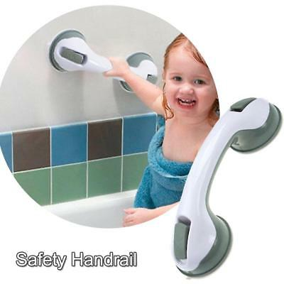 Bath Shower Grip Handle Bathroom Suction Grab Bar Safety Rail Tub Support New