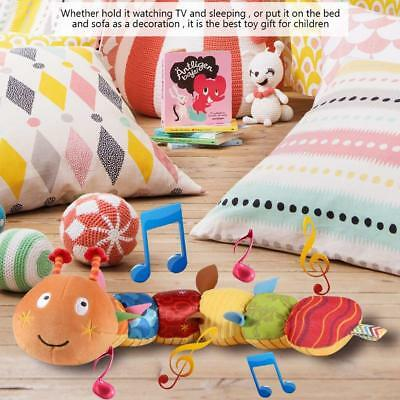 Colorful Inchworm Soft Caterpillar Musical  Cute Educational Xmas Kid Baby Toys