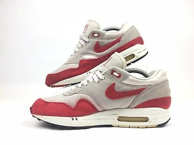 Nike Air Max 1 Classic HOA WhiteSport Red Neutral Grey Size 12 New DS (2005)