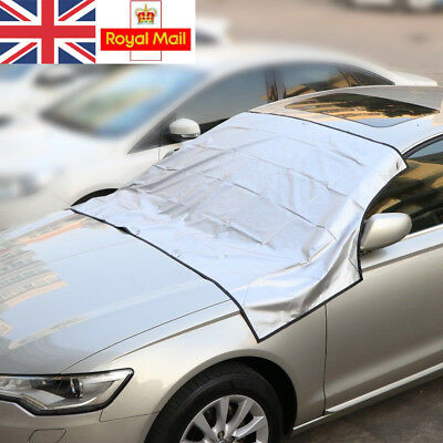 WINDSCREEN COVER Magnetic Car Frost Ice Shield Snow Dust Protector Magnet UK